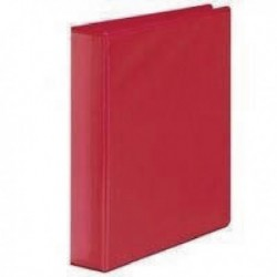 Red 50mm Pres 4D-Ring Binder Pk10