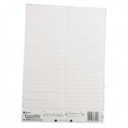 Rexel Crystalfile Lnk Top Tab Insrts P50