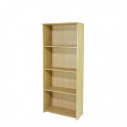 FF Serrion 1750mm Large Bookcase Oak
