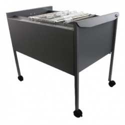 Rexel Filemate Mobile Filing Trolley Gry