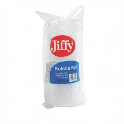 Jiffy Bubble Film Roll 300mmx3m Clr Pk20
