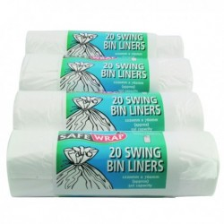 Safewrap Swing Bin Liner 20 Roll 441