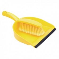 Yellow Dustpan and Brush Set 102940YL
