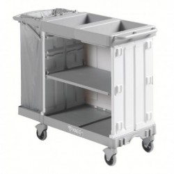 Compact Maid Trolley 800 Grey 381649