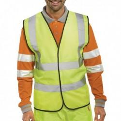 Hi-Viz Vest S/Yellow EN ISO 20471 XXL