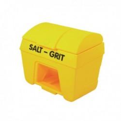 Yellow Salt/Grit Bin/Hopper Feed 200Ltr