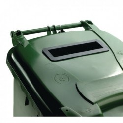 Confidential Waste Wheelie Bin 240Lt Grn