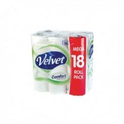 Velvet Comfort Toilet Roll Pk18