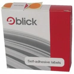 Blick Dispenser Label 19mm Blue Pk1280
