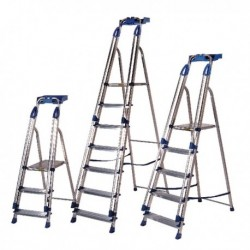 Aluminium Blue Seal 4 Tread Ladder