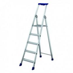 5 Ribbed Tread Platf Step Ladder 358755