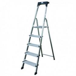 Comfort Aluminium Silver 5 Tread Steps