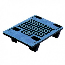 Plastic Recycled Black Pallet 322321