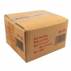 Write-on Minigrip Bag 90x115mm GA-123
