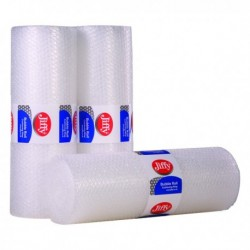 Jiffy Bubble Film Roll 500mmx10m Clear