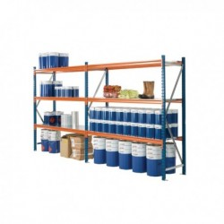 Blue 2000X600mm Quickspan Frame