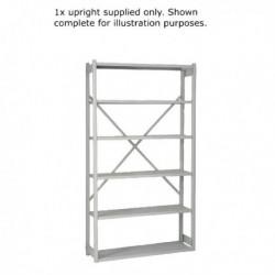 Bisley W100xD30cm Grey Shelving Extn Kit