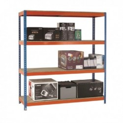Orange/Zinc 2000X1500Xd450mm Shelving