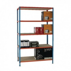 Blue/Orange 120x60cm Shelving 378986