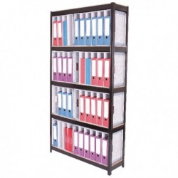Storage Sol 5 Shelf Lever Arch File Unit