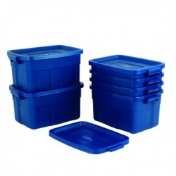 Rough Tote Box 57L Blue 372827