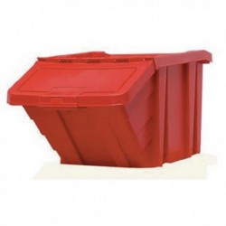 Red H/Duty Storage Bin/Lid 359519
