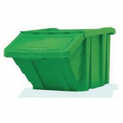 Green H/Duty Storage Bin/Lid 359520