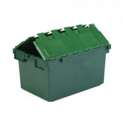Green 25L Plastic Container/Lid