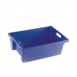 Blue Solid 600X400X200 Nesting Container