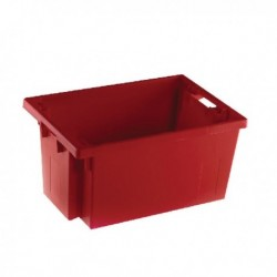 Red Solid Stack/Nesting Container 300mm