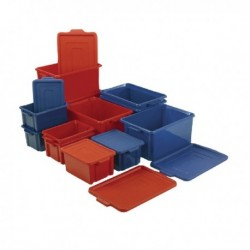 Jumbo Storemaster Crate/Lid Blue 374344