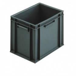 Grey 400x300x319mm Euro Stack Container