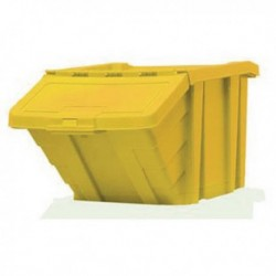 Yellow H/Duty Storage Bin/Lid 359521