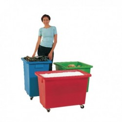 Mobile 580X410X700mm Blue Container