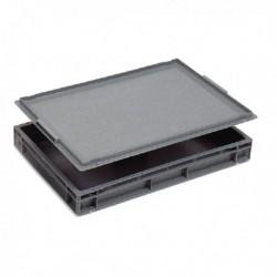 Plastic Lid For 600x400mm Grey