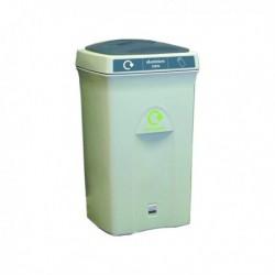 Recycling Envirobin 100L Gry/Ylw 315275