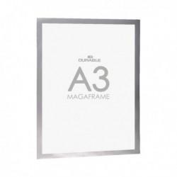 Durable Duraframe A3 Silver Pk2