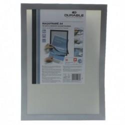 Durable Duraframe A4 Silver Pk2