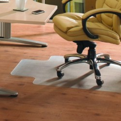 FF Pvc Hard Floor Chairmat Lip 92X121Cm