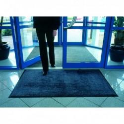 Blk/Blue Entrance Mat Washable 115x175cm