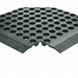 Black Rubber Worksafe Mat 312475