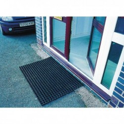 Rubber Black 1000X1500mm Ring Mat