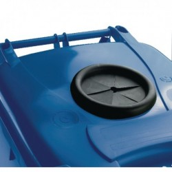 Blue Wheelie Bin 240L Bottle Lid Lock