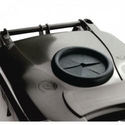 Grey Wheelie Bin 360L Bottle Lid Lock