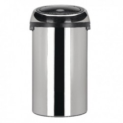 Touch Top Steel Waste Bin 50 Ltr 311734