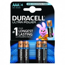 Duracell AAA Ultra Battery Pk4