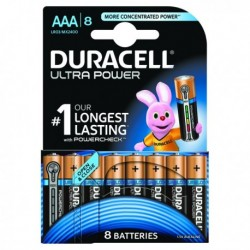 Duracell Ultra AAA Battery Pk8