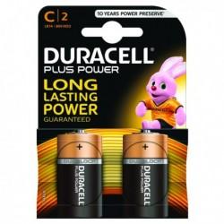 Duracell Plus Size C Battery Pk2