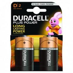 Duracell Plus Size D Battery Pk2