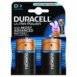 Duracell Size D Ultra Battery Pk2